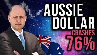 John Adams: Aussie Dollar Crashes 76% - Buy GOLD!