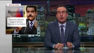 JOHN OLIVER BASHES NICOLAS MADURO AND HIS CROOKED GOVERNMENT