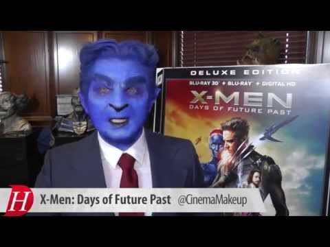 Best Beast cosplay ever! X-Men: Days of Future Past Blu-ray Event