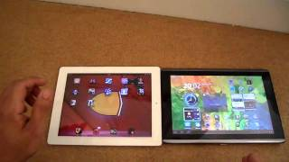 Acer Iconia Tab A500 vs Apple Ipad 2