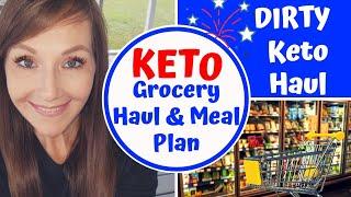 KETO Grocery Haul & Meal Plan July 2020