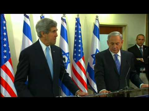 Secretary Kerry Delivers Remarks With Prime Minister Benjamin Netanyahu