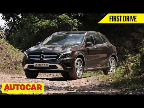 Mercedes-Benz GLA 200 CDI | First Drive Video Review | Autocar India