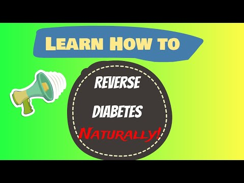 Learn how to cure diabetes naturally reverse diabetes today