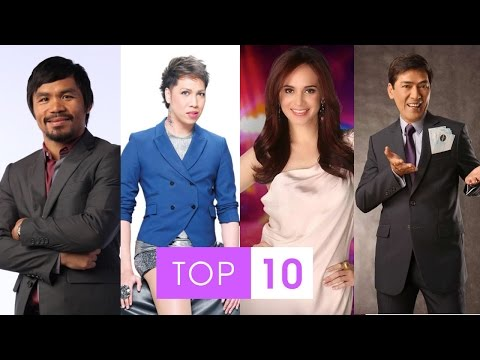 Top 10 Richest Philippines Celebrities 2014