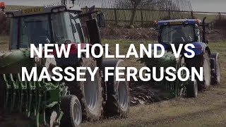 New Holland vs Massey Ferguson Tractor Test, March 2015