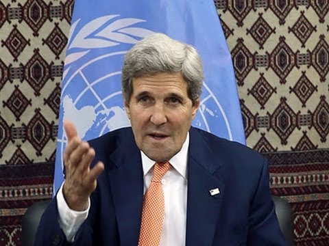 Raw: Kerry Opens More Talks in Afghanistan