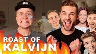 THE ROAST OF KALVIJN DOOR YOUTUBERS