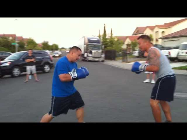 Street Boxing - Round 1