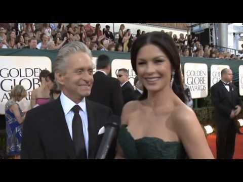 Michael Douglas y Catherine Zeta Jones, una extraña pareja