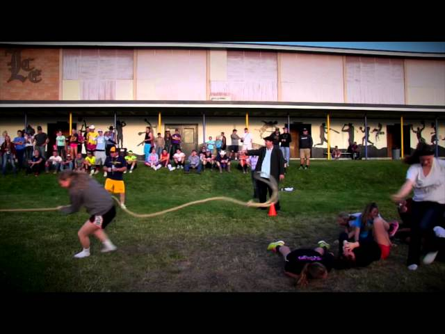 Lakeview High School Homecoming: Tug of War 9-23-2014