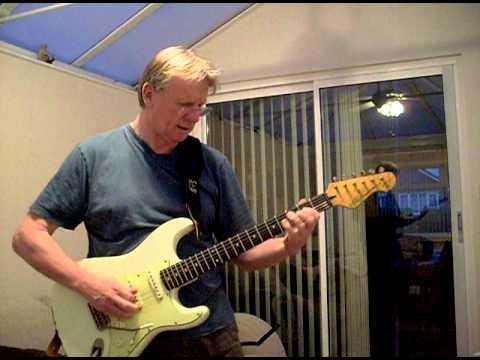 'Vintage' Thomas Blug' Signature Stratocaster - 80s Rock Ballad in Dm