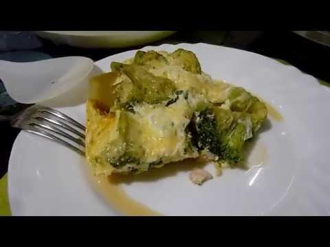 Как приготовить куриную запеканку с брокколи в мультиварке