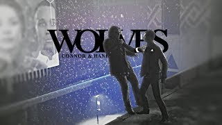 ► hank x connor | wolves