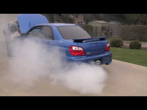 Sea foam engine cleaner in a Subaru WRX