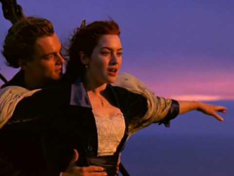 Titanic - i'm Flying Scene video