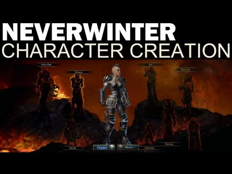 Neverwinter - Full Character Creation (All Races, Classes & Options!)