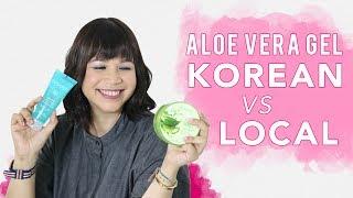 Trend Aloe Vera Gel Lokal VS Korea |  Skincare 101