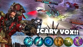 Fed Vox Is Scary Vox! | Vainglory [RANKED] Lane Gameplay