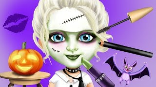 Fun Baby Girl Care Games - Kids Play Halloween Costume Dress Up, Pumpkins Trick Or Treat Kids App