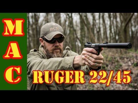 Ruger MkIII 22/45 .22 Pistol