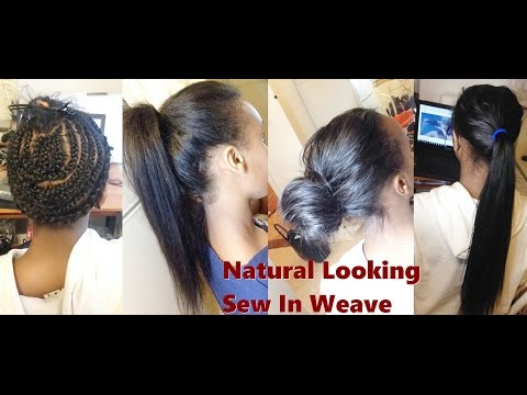 How to-Natural Looking Sew In Weave Ms Here Hair Aliexpress