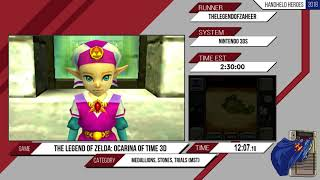 The Legend of Zelda: Ocarina of Time 3D by TheLegendofZaheer. Handheld Heroes Marathon 2018