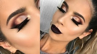 FALL VAMPY AF MAKEUP TUTORIAL | CAT'S PAJAMAS LAURA LEE
