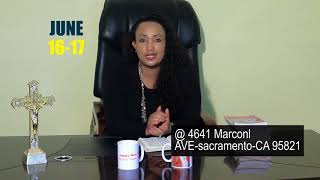 Crusades On America june 16 -17 with Prophetess Birtukan - AmlekoTube.com