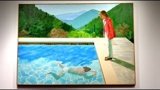 David Hockney pool painting soars to $90 mln, record for living artist