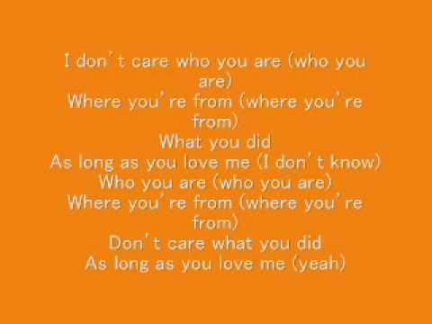 as long as you love me backstreet boys lyrics