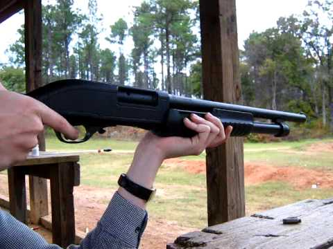 Firing My 12-Gauge Shotgun - ( Hatsan Escort )