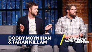 Seth Meyers Gets Burnt by Bobby Moynihan and Taran Killam