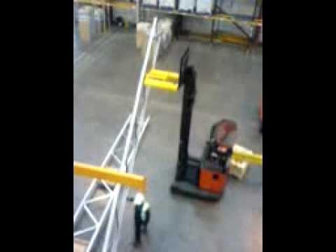 Apex pallet racking installation by Storage Design Limited