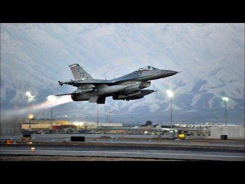 US F-16 Crashes At Bagram In Afghanistan