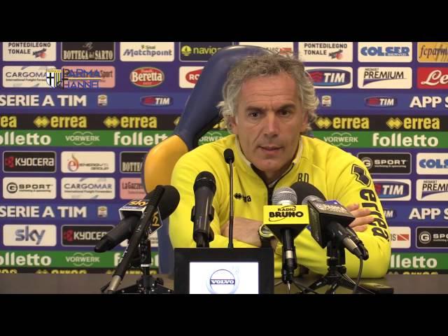 Parma-Juve Tim Cup: la conferenza pregara di mister Donadoni