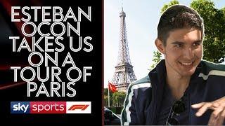 Is Ocon the new Alain Prost? 🇫🇷  Esteban drives Ted around Paris!