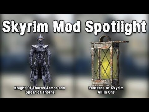 Skyrim Mod Spotlight: Knight Of Thorns Armour and Spear of Thorns ...