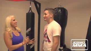 UFC Chris Holdsworth On Iconici MMA