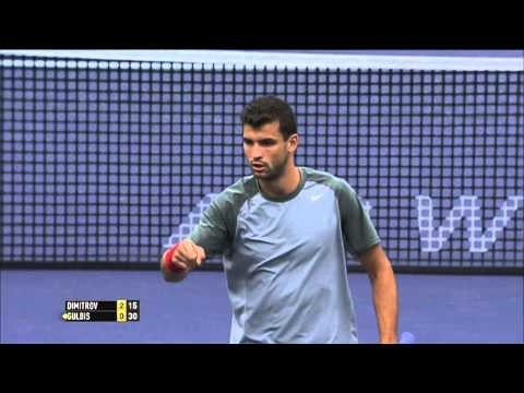 Dimitrov Hits Hot Shot In Indian Wells Defeat