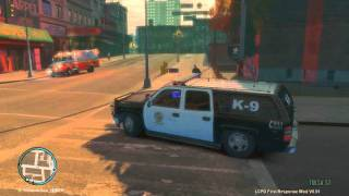 GTA 4 |  PC Morning Shift With the LAPD