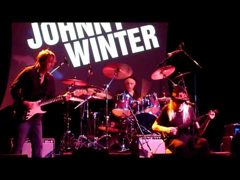 Johnny Winter Band - Boney Moroney 3-31-12 Bearsville Theater, Woodstock, NY