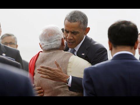 Hug Protocol Broken: Indian PM embraces Obama against rules