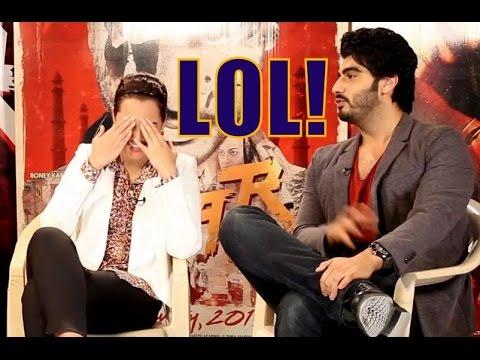 Arjun Kapoor JOKES About Sonakshi Sinha During TEVAR Movie Promotions On Freaky Fridays