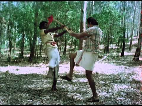 Sakalakala Vallavan - Kamal Hassan Stick Fight video