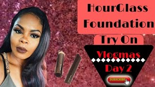 HourGlass Vanish Foundation Stick Review #Vlogmas 2016 Day2