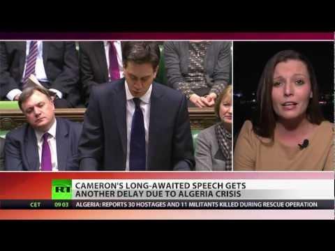 London Limbo: Cameron's speech on UK's EU status delayed indefinitely
