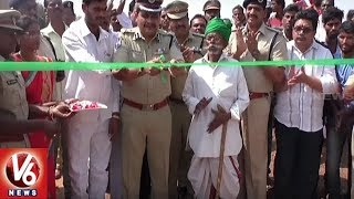 Rachakonda CP Mahesh Bhagwat Lays Foundation For Road Development In Rachakonda Village
