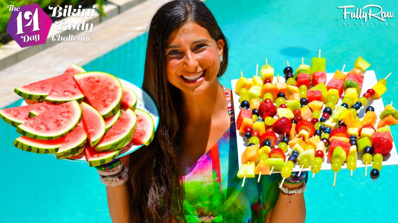 Fullyraw pool party snack ideas youtube for Pool and food