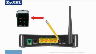 How to reset a Qwest PK5000Z wireless router to factory setting